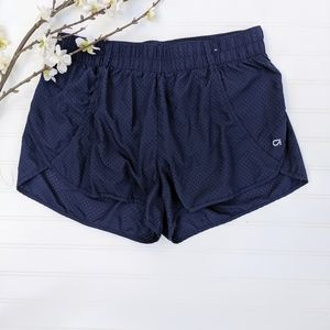 GAP Fit Navy Running Shorts With Attached Panty